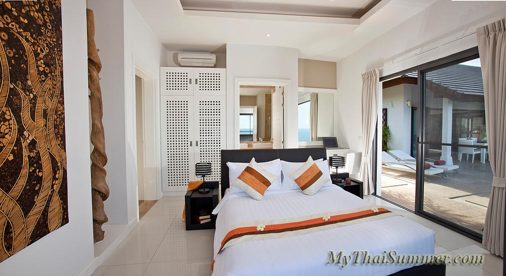 Luxurious 4 bedroom villa, located in 500 meters to Choeng  Mon beach