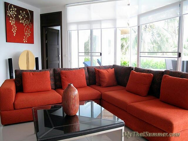 3 bedroom garden villa with private swimming pool, located in 500 meters to Choeng Mon beach (2)