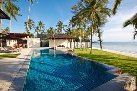Luxury 8 bedroom beachfront  villa