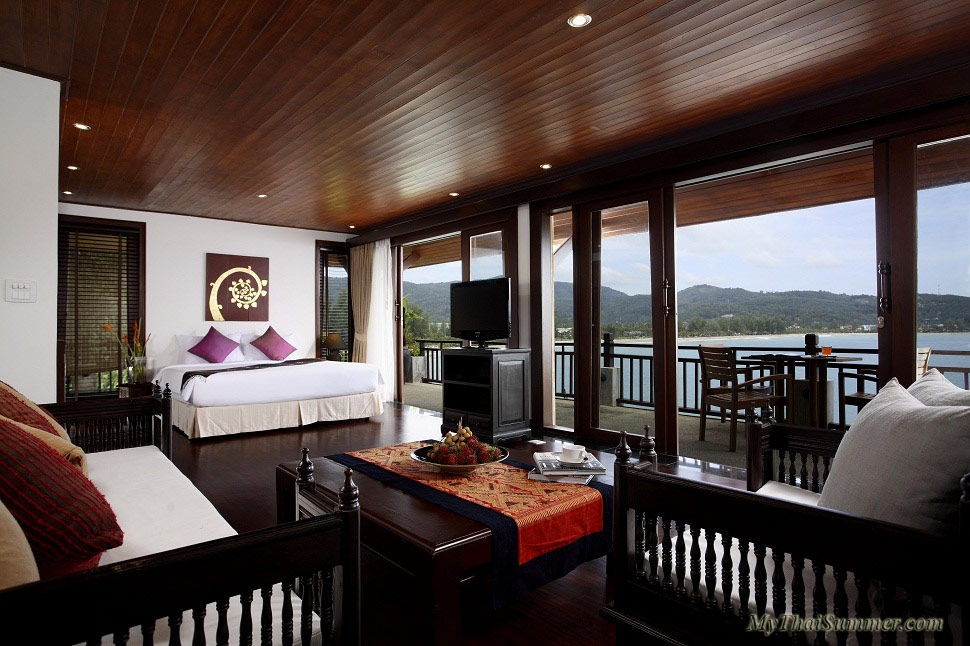 Luxury beachfront villa, located on Kamala beach