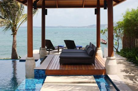 Luxury beachfront villa, located on Bophut beach