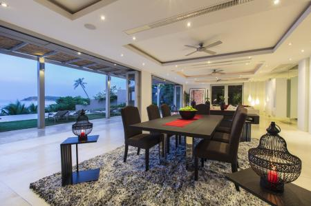 Luxury 6 bedroom  villa, located on Chaweng Yai beach