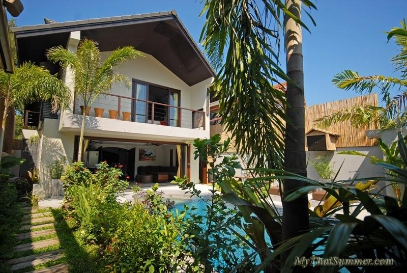 Beautiful 3 bedroom  villa  in 5 minutes walk to Ban Tai beach
