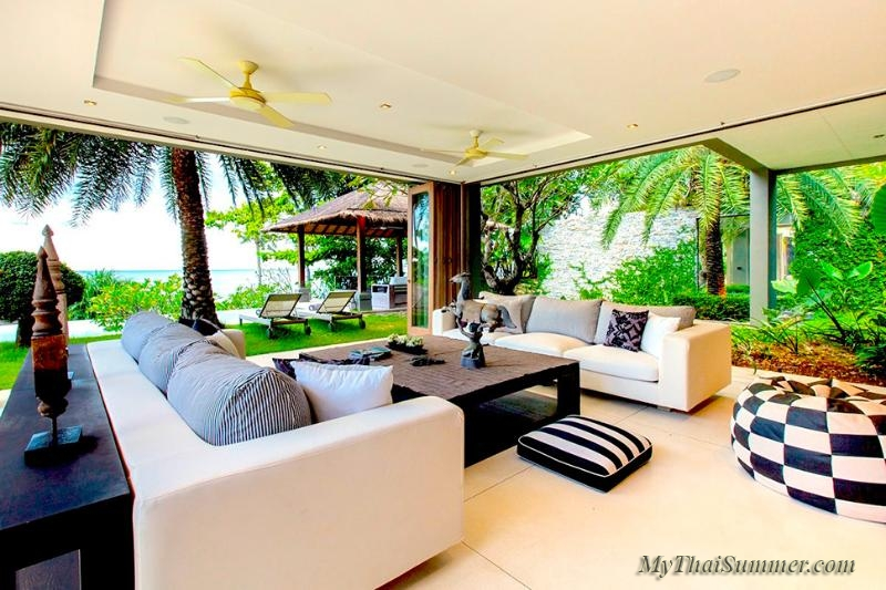 Luxury 5 bedroom villa, located on Chaweng Yai beach