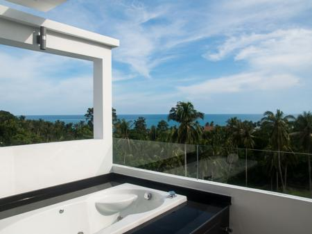 Deluxe sea view apartment, located on Lamai hills