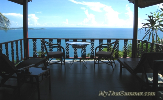 1 bedroom sea view villa, located on hills of Coral Cove