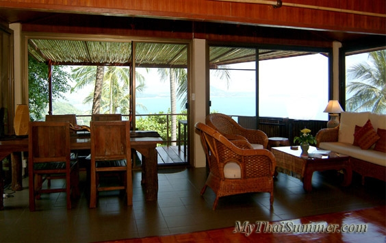 1 bedroom villa , that opens glorious views over the sea
