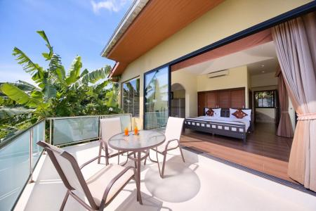 Amazing 4 bedroom seaview villa, located on Lamai hills