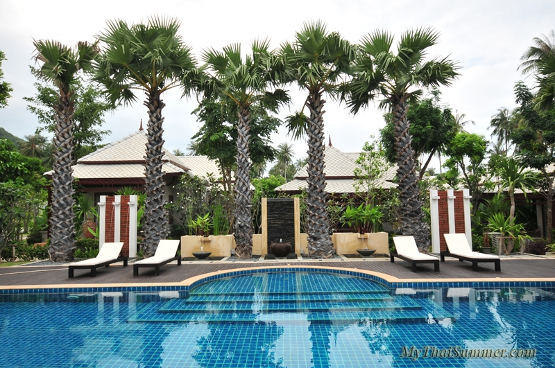 1 bedroom pool view villa, located in Bophut in garden resort