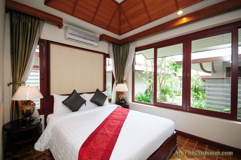 Spacious villa in Bophut,  consisting of 2 exquisitely furnished bedrooms & 2 bathrooms